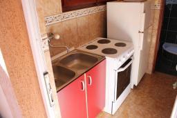 Кухня. Черногория, Обала Джурашевича : Студия с террасой, видом на море и на сад