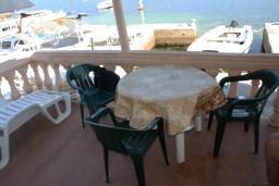 Вид на море. Черногория, Обала Джурашевича : Студия с балконом с шикарным видом на море