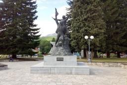 Центральная площадь в Колашине