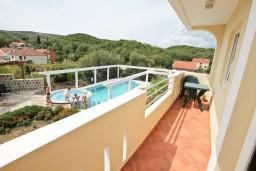 Балкон. Черногория, Радовичи : Студия в Радовичи в 400 метрах от моря