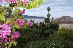 Вид на море. Черногория, Герцег-Нови : Апартамент в 200 метрах от пляжа, с гостиной и отдельной спальней