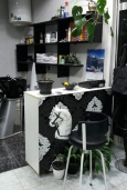 Парикмахерская в Мельине
