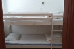 Спальня 3. Черногория, Дженовичи : Апартамент в 100 метрах от пляжа с гостиной, тремя спальнями и террасой