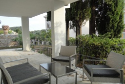 Terrace. Montenegro, Petrovac : Villa with 3 bedrooms in Petrovac for 7 guests
