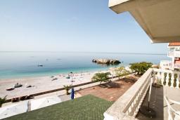 Черногория, Добра Вода : Двухместная студия с балконом и шикарным видом на море
