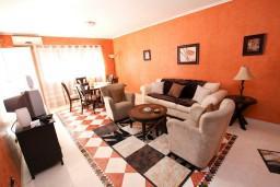 Гостиная. Черногория, Бар : Апартамент для 4-6 человек, 2 отдельные спальни