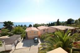 Вид на море. Черногория, Шушань : Апартамент для 5-7 человек, 2 отдельные спальни, с балконом с шикарным видом на море