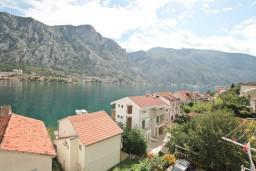 Вид. Черногория, Муо : Студия с балконом с шикарным видом на море, 20 метров до пляжа