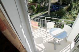 Балкон. Черногория, Лепетане : Студия для 3 человек, 20 метров до пляжа