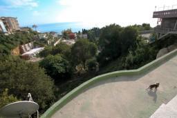 Черногория, Ульцинь : Комната для 2 человек, с балконом с шикарным видом на море, с общей кухней