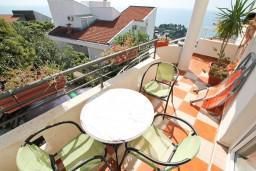 Балкон. Черногория, Ульцинь : Студия в Ульцине с балконом с видом на море