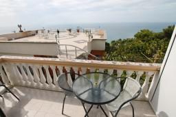 Балкон. Черногория, Ульцинь : Комната для 3 человек, с общей кухней, с балконом с видом на море