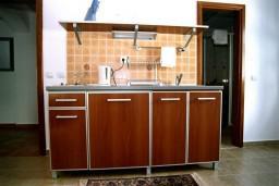 Кухня. Черногория, Рафаиловичи : Апартамент №301 с 2-мя отдельными спальнями, на третьем этаже (APP 04)