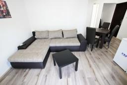 Гостиная. Черногория, Шушань : Уютный апартамент с отдельной спальней