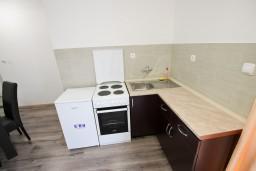 Кухня. Черногория, Шушань : Уютный апартамент с отдельной спальней