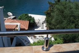 Черногория, Костаньица : Апартамент для 4 человек, с отдельной спальней, с балконом с видом на море