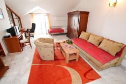 Гостиная. Черногория, Герцег-Нови : Апартамент с 2 спальнями и видом на море