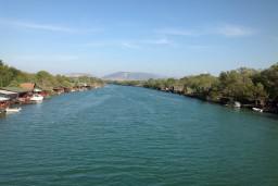 Река ADA в Ада Бояне