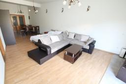Студия (гостиная+кухня). Черногория, Герцег-Нови : Большая студия с террасой на первом этаже