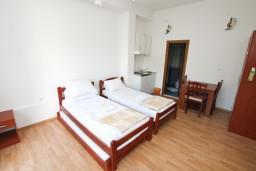 Студия (гостиная+кухня). Черногория, Герцег-Нови : Студия в Савина с террасой на первом этаже