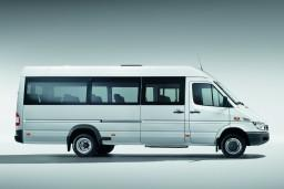 Аренда Mercedes Sprinter, мини-автобус с водителем (вместимость 18 человек) : Черногория