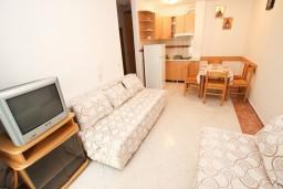 Living room. Montenegro, Rafailovici : Apartment with 1 bedroom in Rafailovici