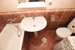 Bath room. Montenegro, Rafailovici : Apartment with 1 bedroom in Rafailovici