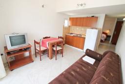 Студия (гостиная+кухня). Черногория, Обала Джурашевича : Студия с балконом с шикарным видом на море