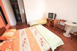 Студия (гостиная+кухня). Черногория, Петровац : Уютная студия с террасой