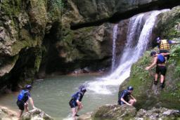 Каньонинг в Невидио : Черногория