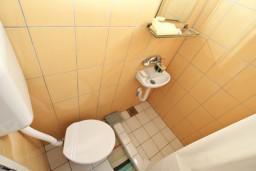 Ванная комната. Черногория, Игало : Студия в 50 метрах от моря