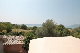 Вид. Черногория, Тиват : Студия с террасой с видом на море