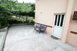 Терраса. Черногория, Лепетане : Студия для 3 человек, с террасой, возле моря