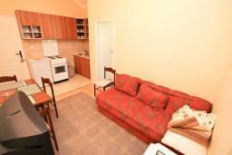 Гостиная. Черногория, Кавач : Апартамент с отдельной спальней