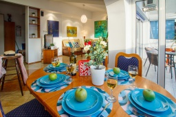 Dining area. Montenegro, Herceg-Novi : Apartment with 2 bedrooms in Herceg-Novi