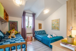Bed room 2. Montenegro, Herceg-Novi : Apartment with 2 bedrooms in Herceg-Novi
