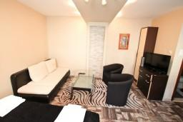 Студия (гостиная+кухня). Черногория, Муо : Современная студия для 2-3 человек, 20 метров до пляжа