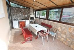 Terrace. Montenegro, Zanjice & Miriste : Apartment with 2 bedrooms in Zanjice & Miriste