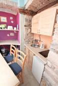 Кухня. Черногория, Котор : Уютная студия для 2 человек