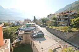 Вид. Черногория, Прчань : Студия для 2 человек, с балконом с видом на море, 20 метров до пляжа