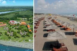 Пляж Ada Bojana Nudist beach в Ада Бояне