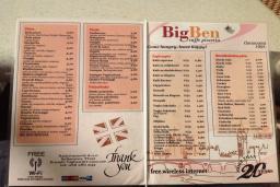 Кафе Big Ben в Доня Ластве