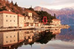 Прочее. Черногория, Пераст : Апартамент для 4-6 человек, с 2-мя отдельными спальнями, с террасой с видом на море, возле пляжа