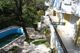 Территория. Черногория, Герцег-Нови : Вилла в Герцег-Нови с 10 спальнями, с 5 ванными комнатами, с бассейном, с местом для барбекю, с 5 террасами с видом на территорию