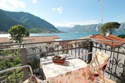 Вид на море. Черногория, Доброта : Роскошная вилла в Доброта с 10 спальнями, с 6 ванными комнатами, с 6 балконами с шикарным видом на море, с бассейном, с местом для барбекю, парковка для нескольких машин, Wi-Fi, 10 метров до моря
