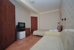 Гостиная. Черногория, Рафаиловичи : Апартамент №15 с отдельной спальней и видом на сад (APP 02+2 PV)