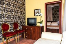 Гостиная. Черногория, Рафаиловичи : Апартамент №29 с отдельной спальней и видом на сад (APP 03 РV)