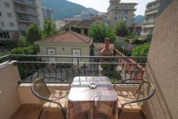 Балкон. Черногория, Будва : Двухместный номер с видом на горы (№S1 DBL MV)