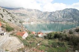Вид на море. Черногория, Рисан : Апартамент для 10 человек, с большой гостиной, с 3-мя отдельными спальнями, с 2-мя ванными комнатами, с балконом с шикарным видом на море, 150 метров до пляжа