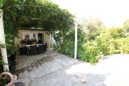 Территория. Черногория, Баошичи : Комплекс из 2-х вилл с 4-мя отдельными спальнями, с 3-мя ванными комнатами, с зеленым двориком с садовой мебелью и качелей, с местом для барбекю, несколько парковочных мест, Wi-Fi